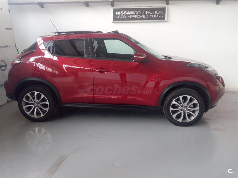 nissan juke 4x4 1 5 dci tekna 4x2 diesel de color granate del a o 2016 con 11200km en baleares. Black Bedroom Furniture Sets. Home Design Ideas