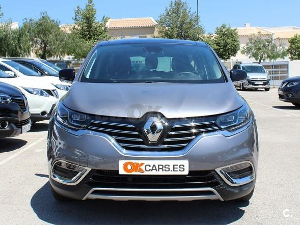 renault espace zen energy dci 160 twin turbo edc diesel gris plata gris plata gris. Black Bedroom Furniture Sets. Home Design Ideas