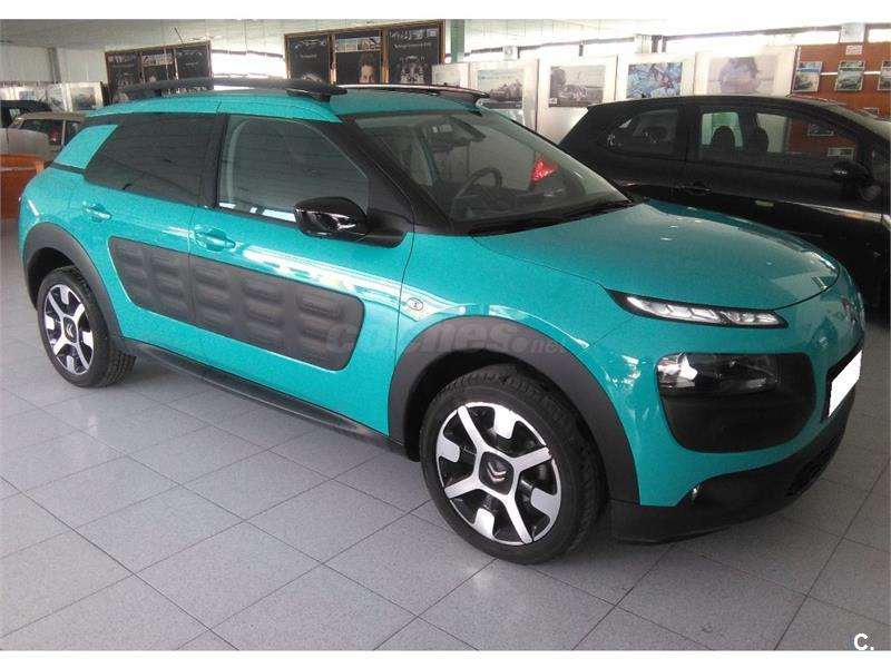 citroen c4 cactus bluehdi 100 feel edition diesel azul. Black Bedroom Furniture Sets. Home Design Ideas