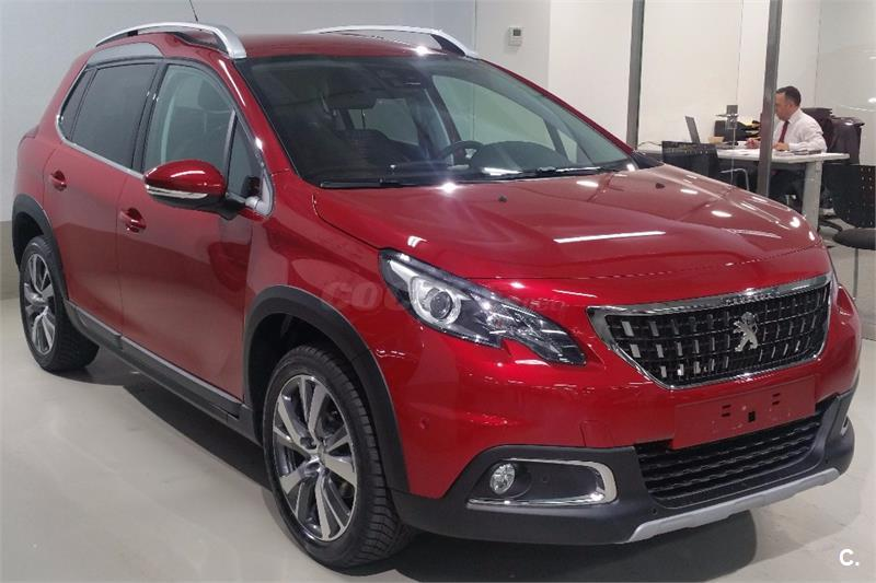 peugeot 2008 4x4 allure 1 2 puretech 96kw 130cv ss gasolina de km0 de color rojo en madrid 33234679. Black Bedroom Furniture Sets. Home Design Ideas