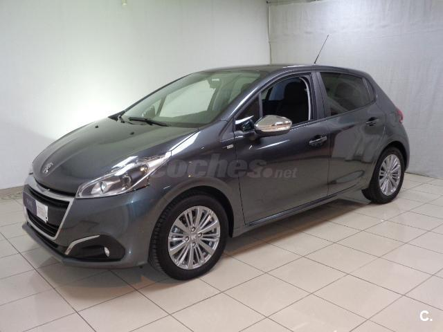 peugeot 208 5p style 1 6 bluehdi 75 diesel gris plata gris shark del 2017 con 500km en. Black Bedroom Furniture Sets. Home Design Ideas