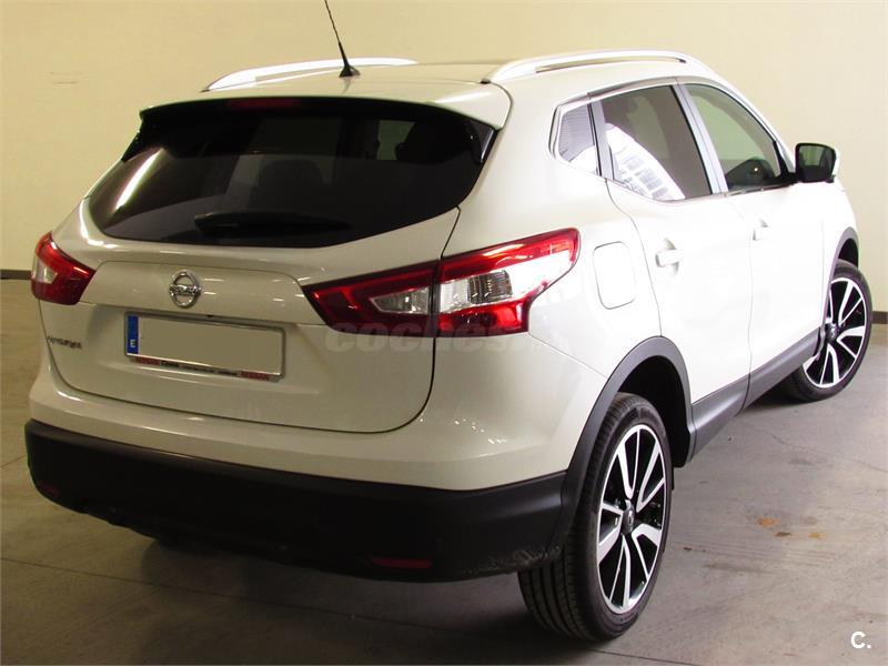 nissan qashqai berlina tekna 4x4 piel diesel de km0 de color blanco blanco en asturias. Black Bedroom Furniture Sets. Home Design Ideas