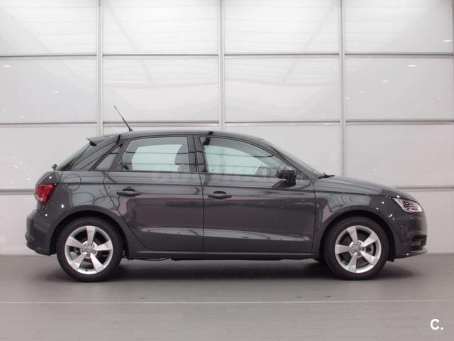 audi a1 sportback 1 6 tdi 116cv adrenalin diesel gris plata gris nano del 2016 con 7653km. Black Bedroom Furniture Sets. Home Design Ideas