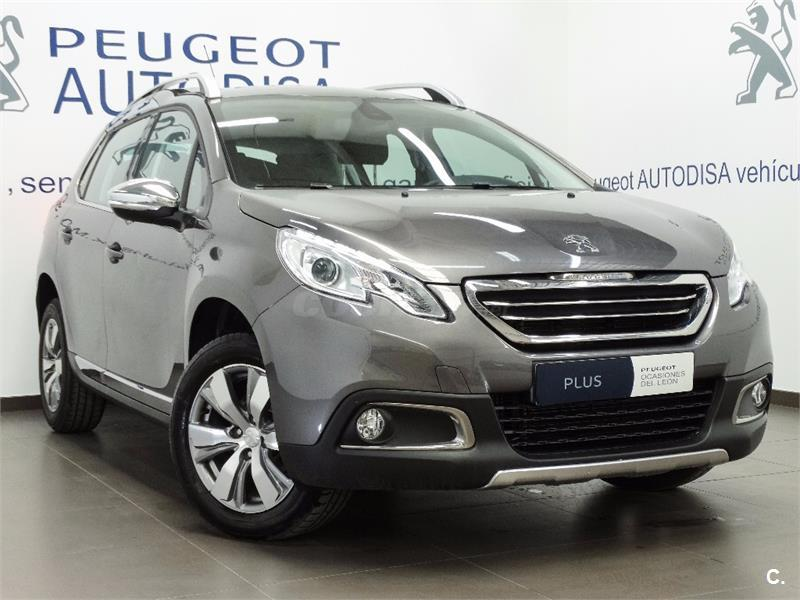peugeot 2008 4x4 allure 1 6 bluehdi 100 diesel de km0 de color gris plata en valencia 33292825. Black Bedroom Furniture Sets. Home Design Ideas