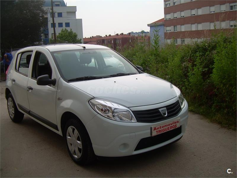 dacia sandero laureate 2011 dci 75cv e5 diesel blanco del 2011 con 180000km en cantabria 33293782. Black Bedroom Furniture Sets. Home Design Ideas