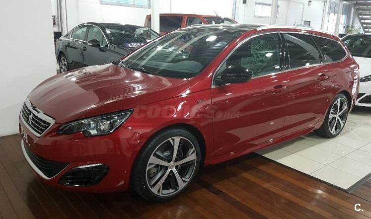 peugeot 308 familiar sw gt 205 gasolina de km0 de color rojo rojo ultimate en madrid 33311835. Black Bedroom Furniture Sets. Home Design Ideas