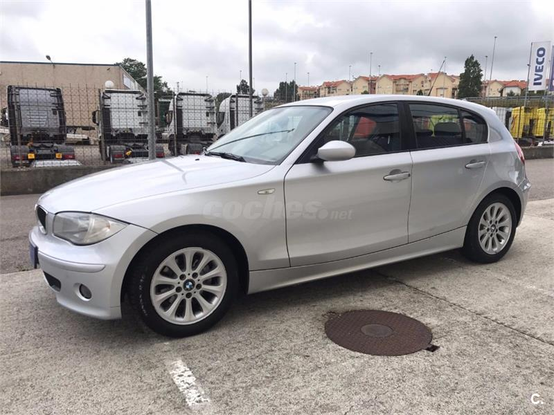 bmw serie 1 118d diesel gris plata del 2006 con 170000km en cantabria 33340347. Black Bedroom Furniture Sets. Home Design Ideas