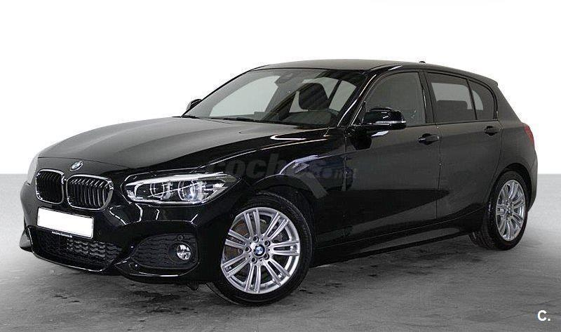 bmw serie 1 120d diesel negro saphirschwarz del 2017 con 4435km en barcelona 33375244. Black Bedroom Furniture Sets. Home Design Ideas