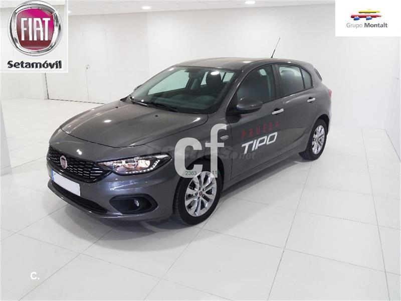 fiat tipo berlina 1 3 easy 70kw 95cv diesel mjet 5p diesel de km0 de color gris plata. Black Bedroom Furniture Sets. Home Design Ideas