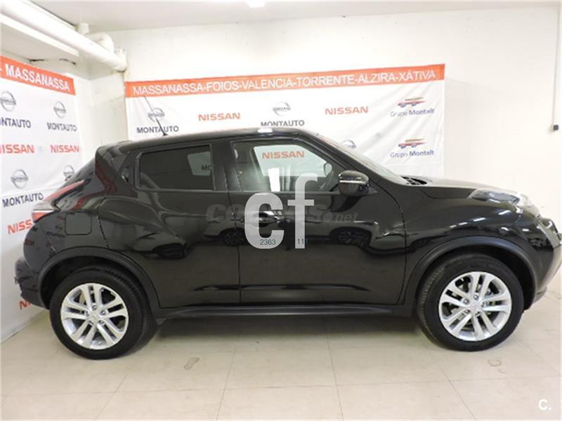 nissan juke 4x4 dci eu6 81 kw 110 cv 6mt acenta diesel de km0 de color negro negro en. Black Bedroom Furniture Sets. Home Design Ideas