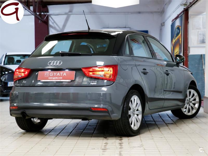 audi a1 berlina sportback 1 0 tfsi 95cv attraction gasolina de km0 de color gris plata nano. Black Bedroom Furniture Sets. Home Design Ideas