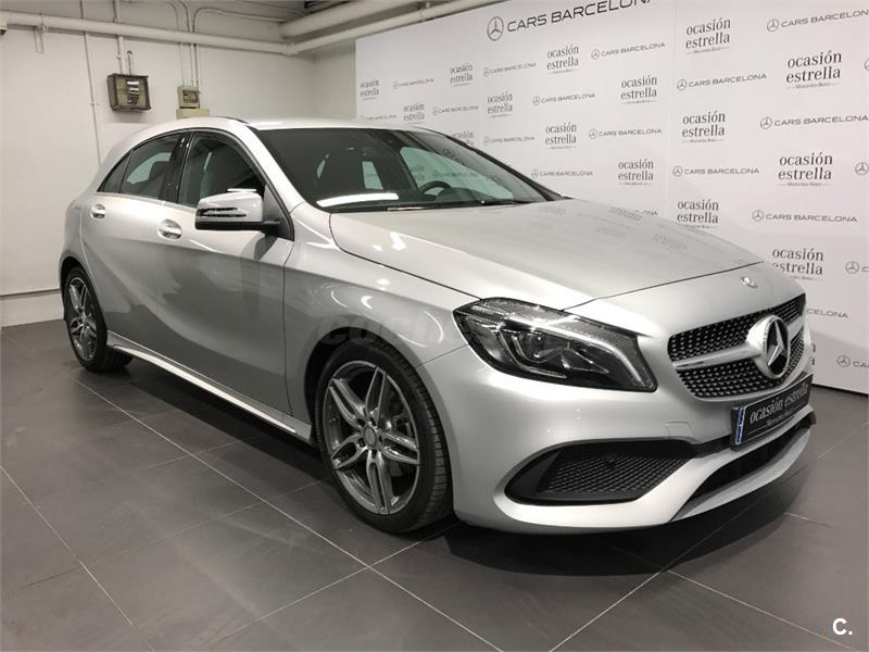 Mercedes benz clase a a 200 d amg line diesel gris plata for Mercedes benz plant salary