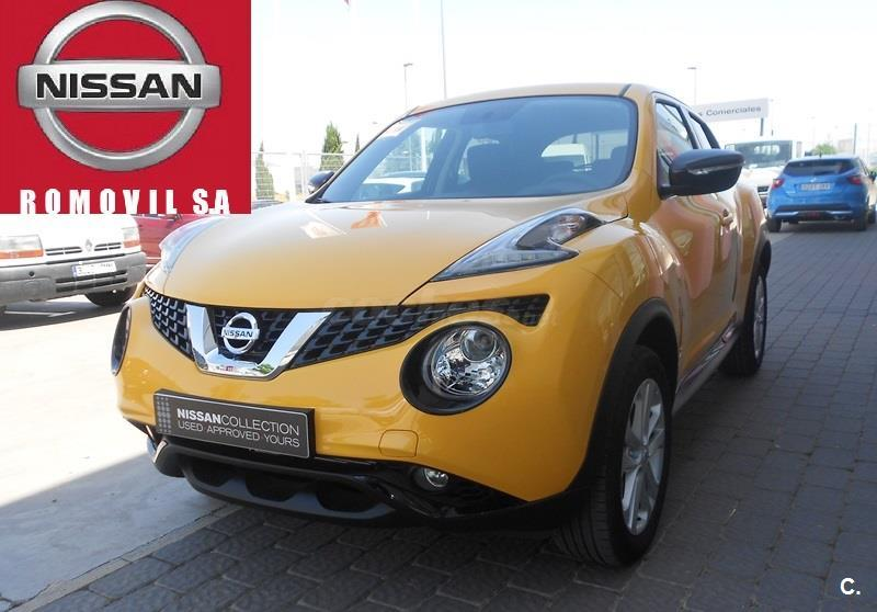 nissan juke 4x4 dci eu6 81 kw 110 cv 6mt acenta diesel de demostraci n de color amarillo pack. Black Bedroom Furniture Sets. Home Design Ideas