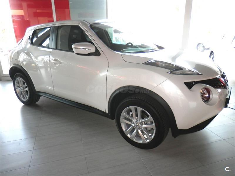 nissan juke 4x4 dci eu6 81 kw 110 cv 6mt acenta diesel de nuevo de color blanco blanco perlado. Black Bedroom Furniture Sets. Home Design Ideas