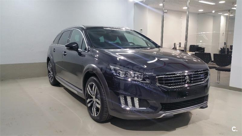 peugeot 508 familiar rxh 2 0 bluehdi 133kw 180cv autom diesel de km0 de color gris plata en. Black Bedroom Furniture Sets. Home Design Ideas