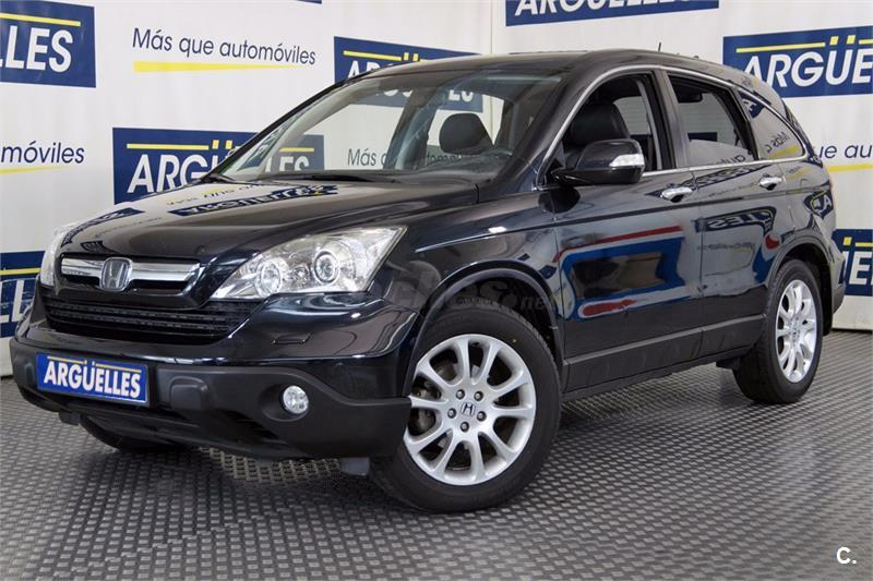 honda crv 4x4 2 2 ictdi innova diesel de color negro perla del a o 2007 con 279890km en madrid. Black Bedroom Furniture Sets. Home Design Ideas