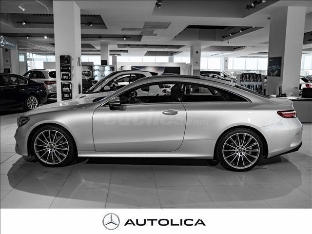 Mercedes benz clase e coupe e 220 d diesel gris plata for Garage mercedes bron