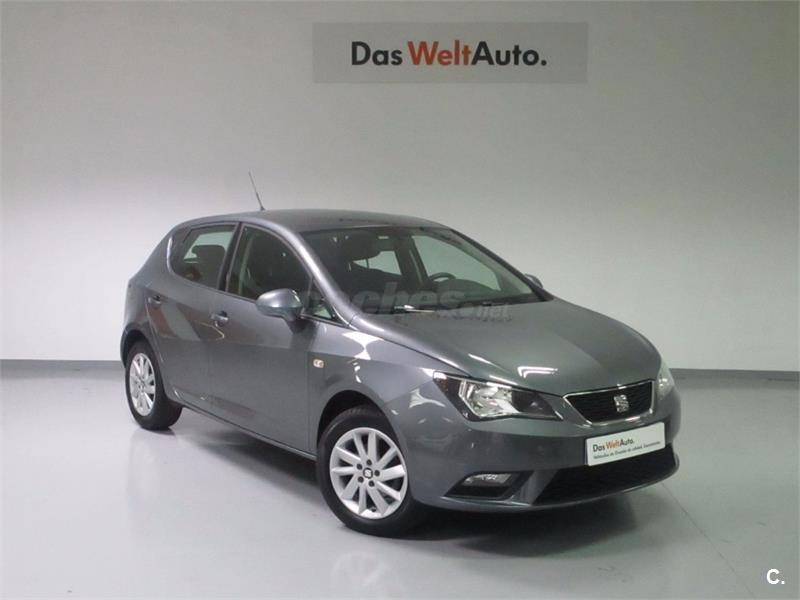 seat ibiza 1 4 tdi 105cv style diesel gris plata gris pirineos del 2016 con 13331km en. Black Bedroom Furniture Sets. Home Design Ideas