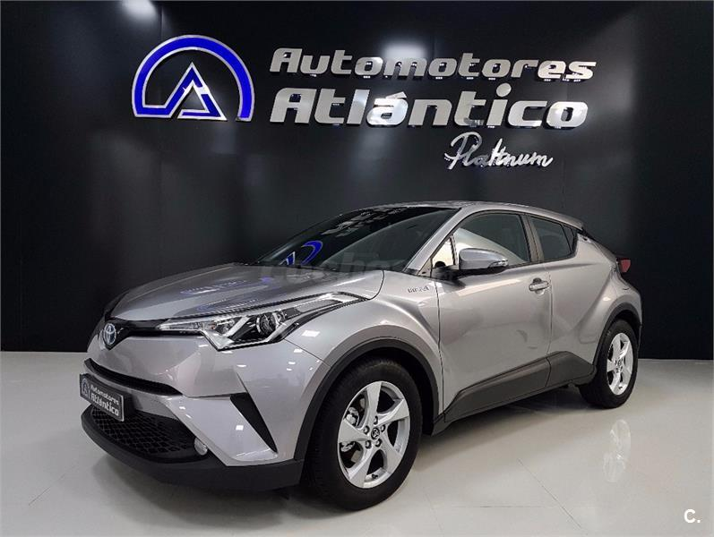 toyota chr 1 8 125h active el ctrico h brido gris plata metalizado del 2017 con 100km en. Black Bedroom Furniture Sets. Home Design Ideas