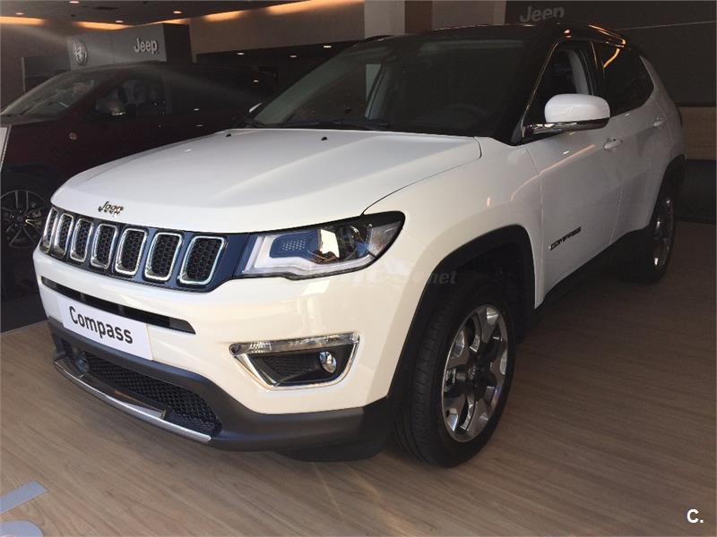 jeep compass 4x4 2 0 mjet 125kw limited 4x4 ad auto diesel de km0 de color blanco blanco. Black Bedroom Furniture Sets. Home Design Ideas