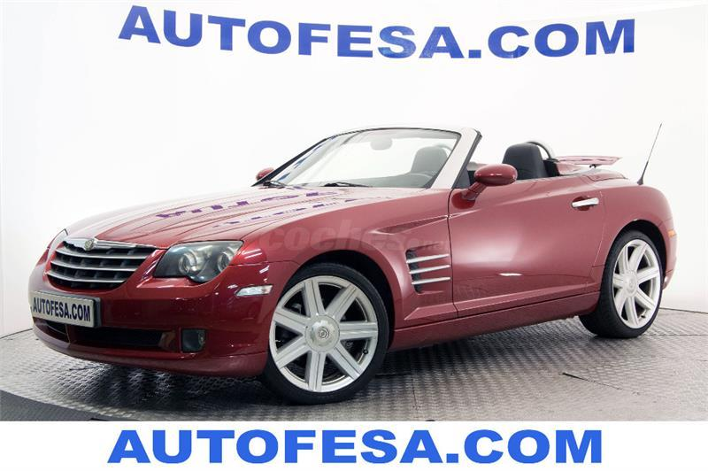 chrysler crossfire 3 2 limited cabrio auto gasolina granate burdeos del 2005 con 162300km en. Black Bedroom Furniture Sets. Home Design Ideas