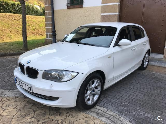 bmw serie 1 118d diesel blanco del 2008 con 188000km en vizcaya 33527336. Black Bedroom Furniture Sets. Home Design Ideas
