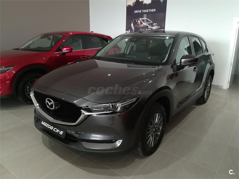 mazda cx5 4x4 2 2 de 110kw 150cv evolution 4wd diesel de km0 de color gris plata machine gray. Black Bedroom Furniture Sets. Home Design Ideas