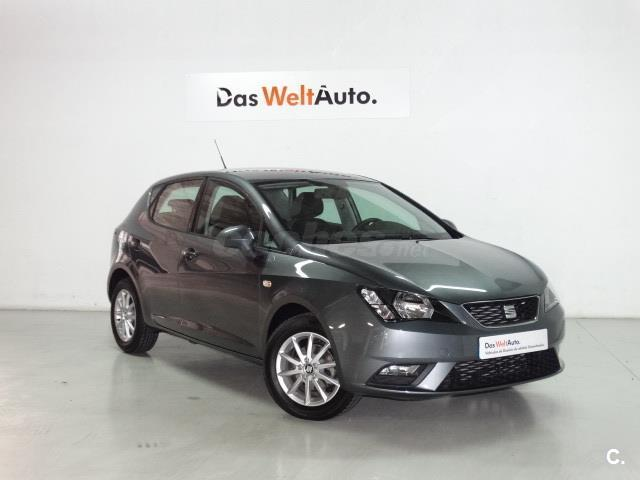 seat ibiza 1 4 tdi 105cv style diesel gris plata gris pirineos metalizado del 2016 con. Black Bedroom Furniture Sets. Home Design Ideas