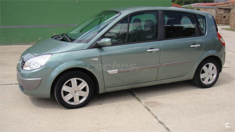 renault scenic confort expression eu4 diesel verde del 2006 con 127000km en soria 33562286. Black Bedroom Furniture Sets. Home Design Ideas