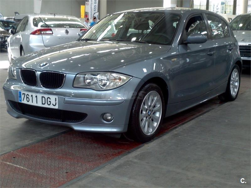 bmw serie 1 120d diesel gris plata del 2005 con 140000km en valladolid 33565910. Black Bedroom Furniture Sets. Home Design Ideas