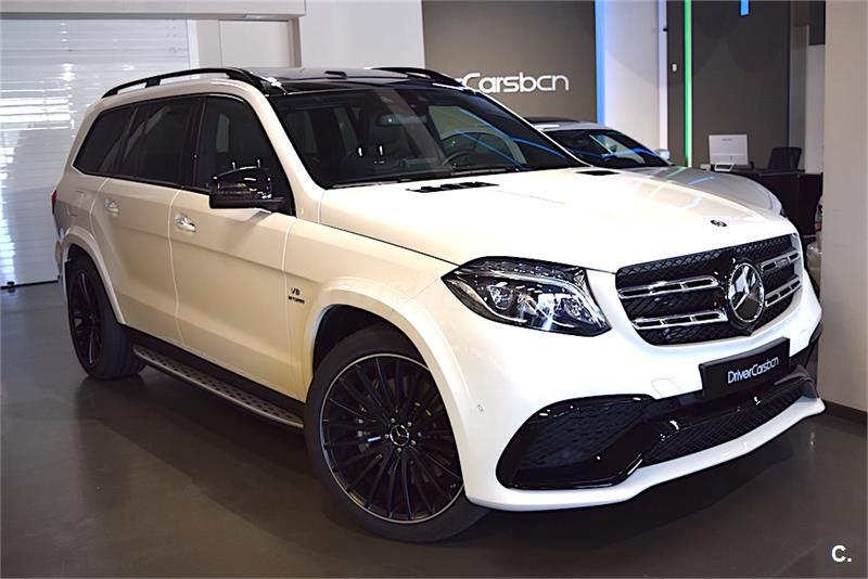 mercedes benz clase gls 4x4 mercedesamg gls 63 4matic gasolina de color blanco del a o 2017 con. Black Bedroom Furniture Sets. Home Design Ideas