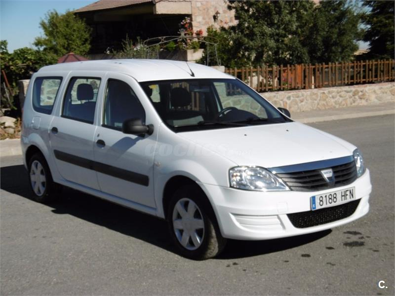 dacia logan break ambiance dci 75cv e5 5 plazas diesel blanco del 2011 con 171200km en madrid. Black Bedroom Furniture Sets. Home Design Ideas