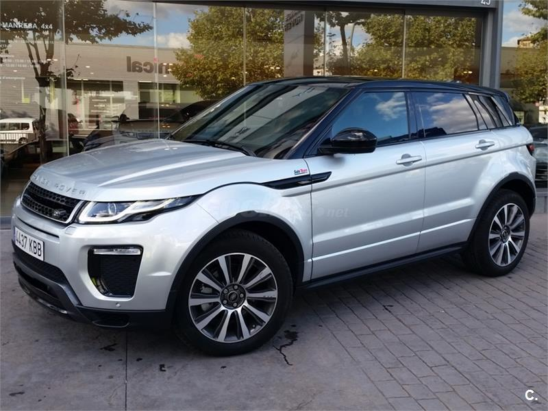 land rover range rover evoque 4x4 td4 150cv 4x4 se dynamic auto diesel de km0 de color gris. Black Bedroom Furniture Sets. Home Design Ideas