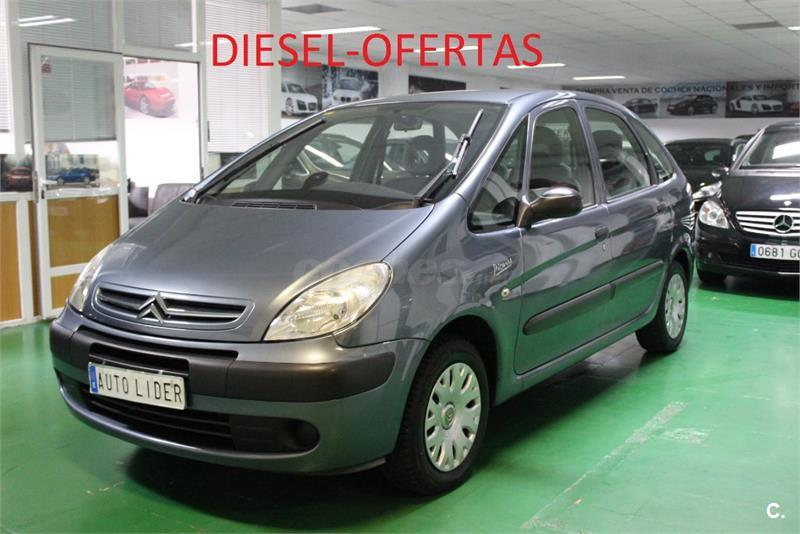 citroen xsara picasso 1 6 hdi 110 exclusive diesel gris plata oscuro metalizado del 2009 con. Black Bedroom Furniture Sets. Home Design Ideas