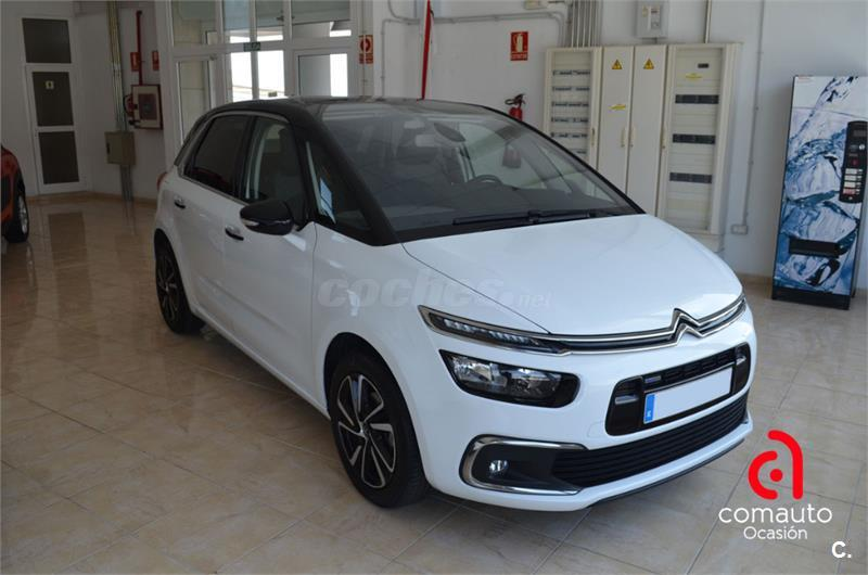citroen c4 picasso puretech 96kw 130cv ss 6v feel gasolina blanco del 2017 con 13300km en sta c. Black Bedroom Furniture Sets. Home Design Ideas