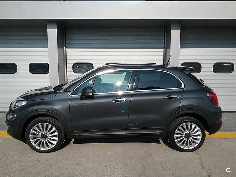 fiat 500x 4x4 lounge 1 6 multijet 120cv 4x2 diesel de color gris plata gris moda metalizado. Black Bedroom Furniture Sets. Home Design Ideas