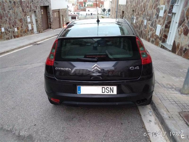 citroen c4 1 6 hdi 110 vts diesel negro 9 del 2005 con 185000km en barcelona 33731400. Black Bedroom Furniture Sets. Home Design Ideas