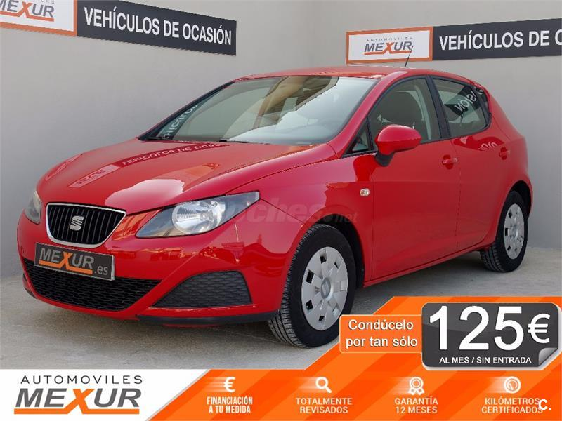 seat ibiza 1 2 12v 60cv emocion gasolina rojo del 2010 con 82542km rh coches net 2018 Seat Ibiza 2018 Seat Ibiza