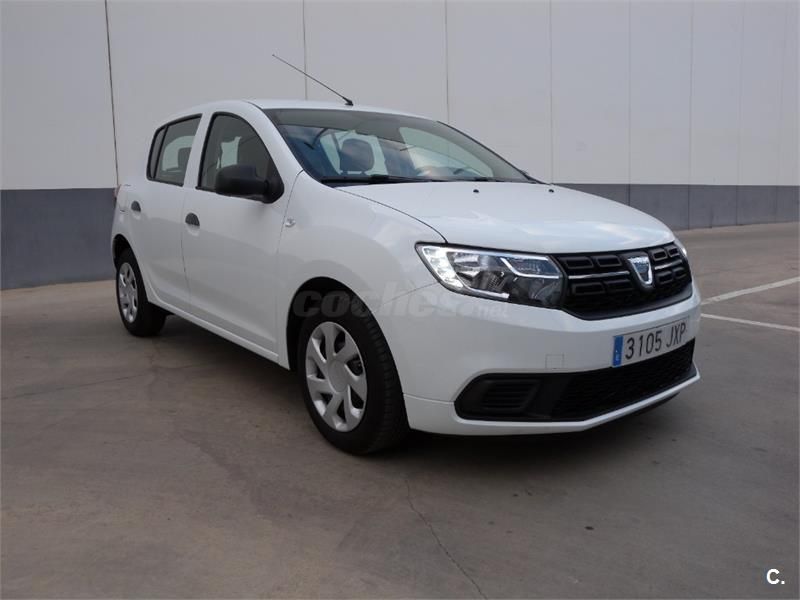 dacia sandero ambiance 1 0 54kw 73cv gasolina blanco del 2017 con 9395km en barcelona 33747419. Black Bedroom Furniture Sets. Home Design Ideas