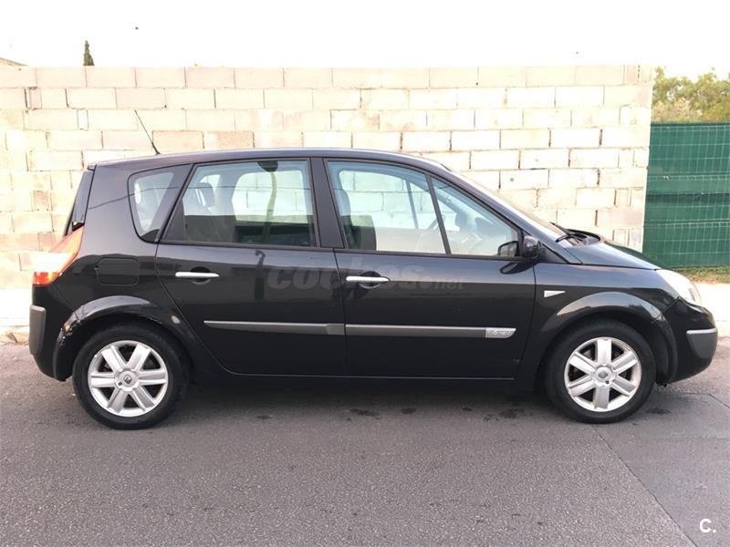 renault scenic confort dynamique 1 6 16v eu4 gasolina negro del 2006 con 119000km en baleares. Black Bedroom Furniture Sets. Home Design Ideas