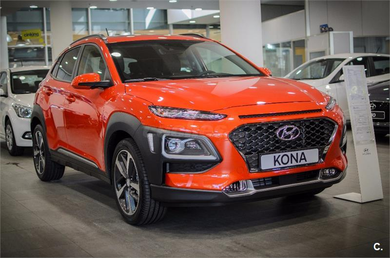 hyundai kona 4x4 1 6 tgdi style dt 4x4 sky gasolina de color naranja del a o 2017 con 1km en. Black Bedroom Furniture Sets. Home Design Ideas