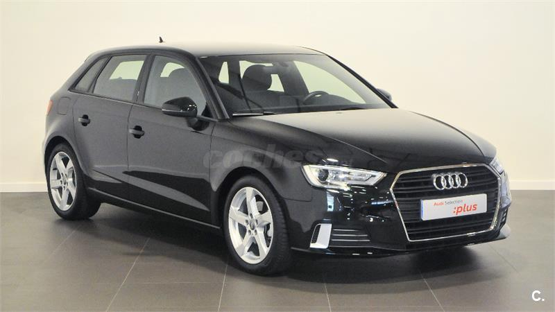 audi a3 sport edition 1 6 tdi sportback diesel negro negro mito del 2017 con 28500km en. Black Bedroom Furniture Sets. Home Design Ideas