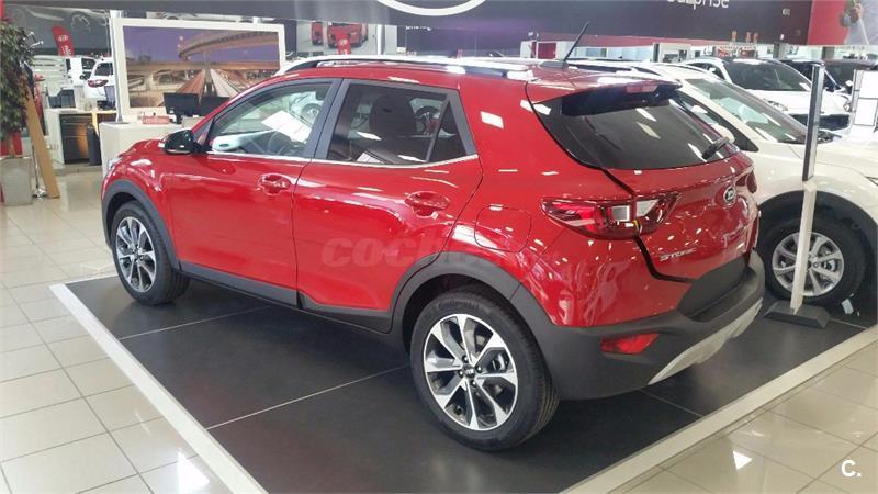 kia stonic 4x4 1 0 tgdi 88kw 120cv concept ecodynam gasolina de km0 de color rojo en madrid 33788113