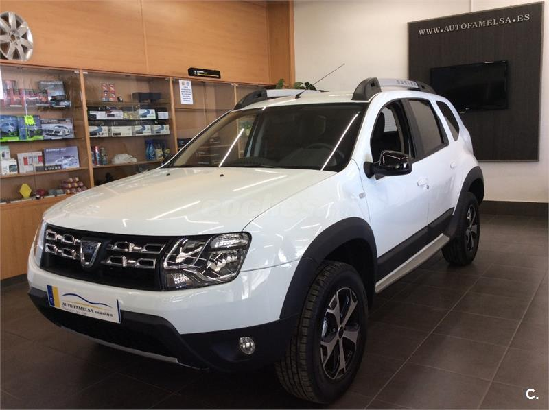 dacia duster 4x4 sl trotamundos dci 80kw 109cv 4x2 diesel de color blanco del a o 2017 con 100km. Black Bedroom Furniture Sets. Home Design Ideas