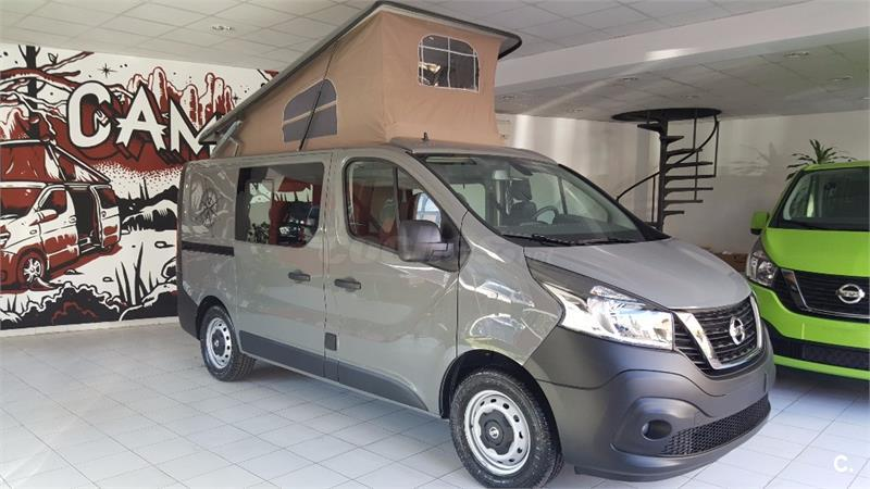 nissan nv300 camper en barcelona 33823897. Black Bedroom Furniture Sets. Home Design Ideas
