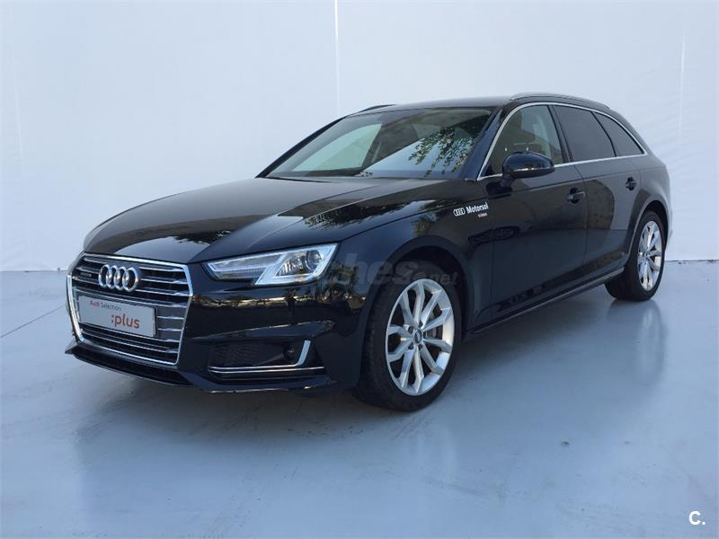 audi a4 avant 2 0 tdi quattro s tronic sport ed diesel negro del 2017 con 12285km en barcelona. Black Bedroom Furniture Sets. Home Design Ideas
