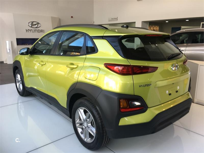 hyundai kona 4x4 1 0 tgdi klass 4x2 gasolina de km0 de color amarillo acid yellow en madrid. Black Bedroom Furniture Sets. Home Design Ideas