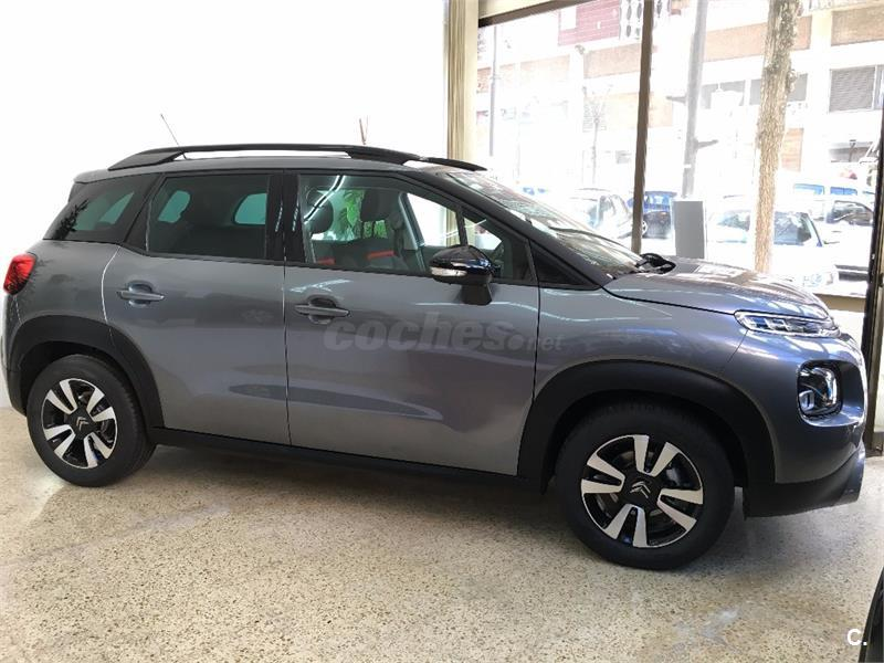 citroen c3 aircross 4x4 bluehdi 73kw 100cv feel diesel de color gris plata gris plata del. Black Bedroom Furniture Sets. Home Design Ideas