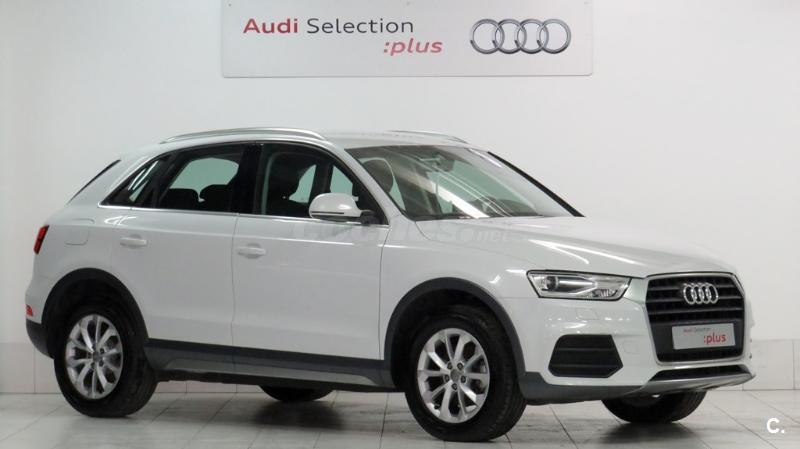 audi q3 4x4 design edition 2 0 tdi 150cv diesel de color blanco del a o 2016 con 12155km en. Black Bedroom Furniture Sets. Home Design Ideas