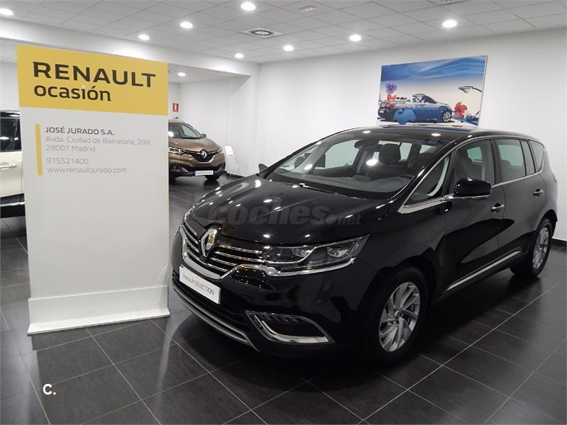renault espace zen energy dci 160 twin turbo edc diesel negro del 2016 con 32575km en madrid. Black Bedroom Furniture Sets. Home Design Ideas